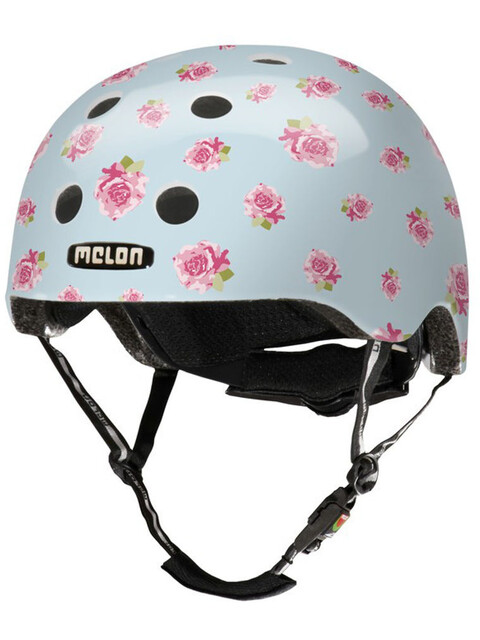 Melon Urban Active Story Cykelhjelm Flying Roses pink/blå